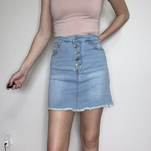 Bluenotes Denim Skirt
